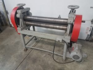 Doty MFG Company Power Slip roller Sheet Metal Pinch Roll Image