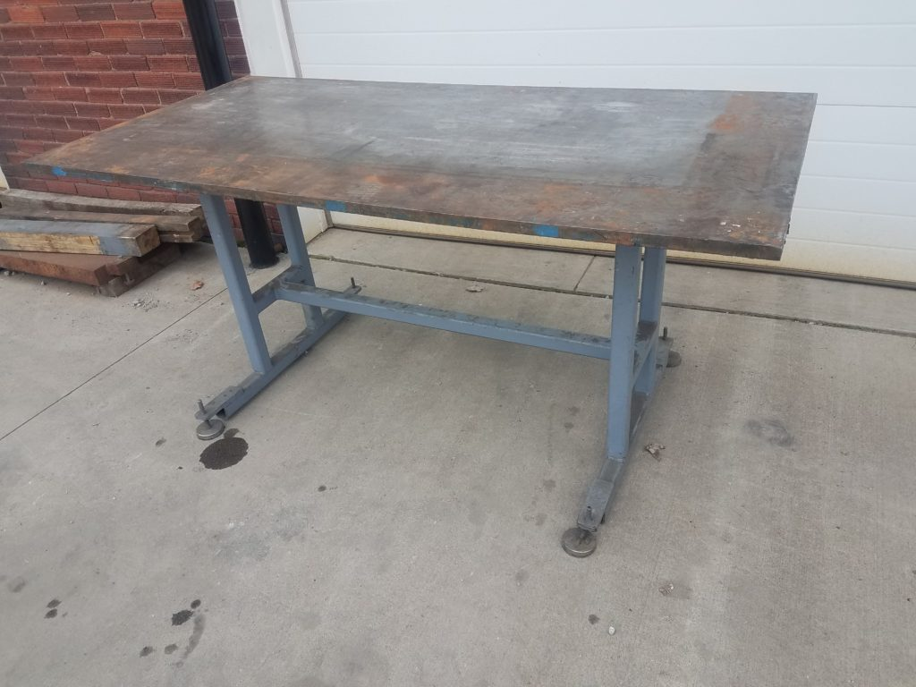 Steel Welding Table Work Bench Image