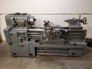 Webb 17 x 40 Precision Gap Bed Lathe Whacheon Image