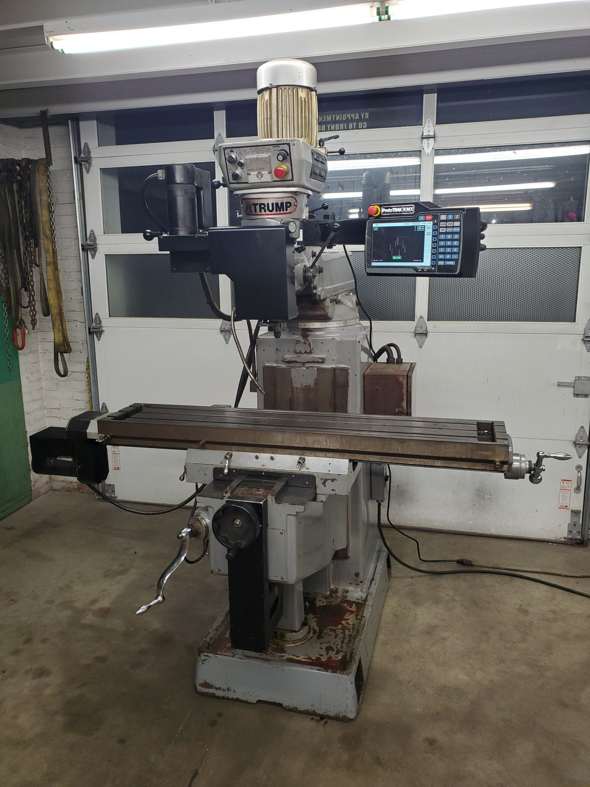 Southwestern Industries KMX 3 axis CNC Mill Single Phase 220 volt 58 Image