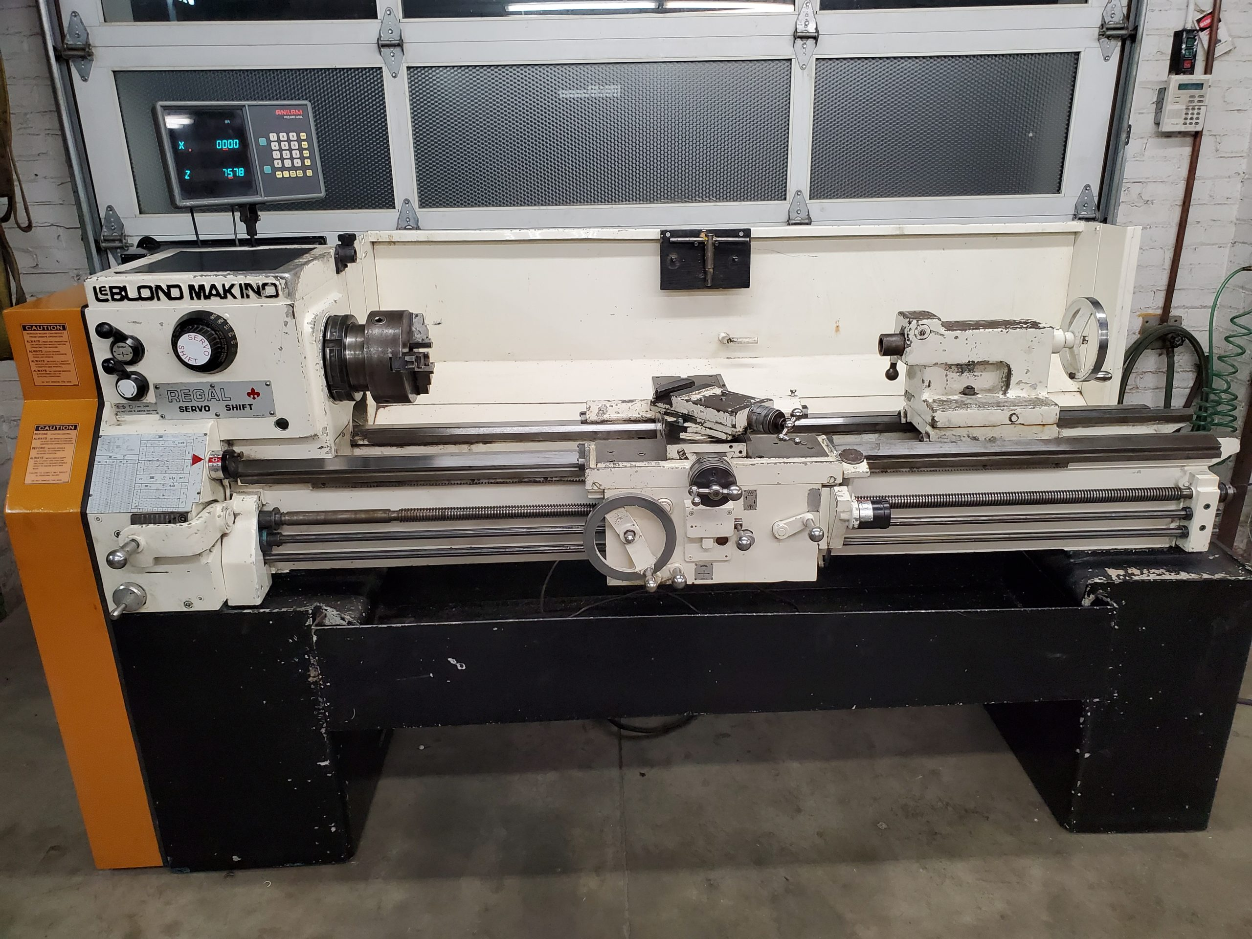 Leblond Makino 15 x 54 Lathe L1 Tapered Nose Spindle spindle Image